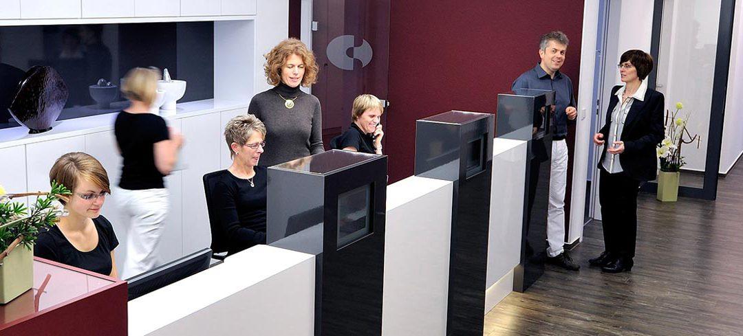 Imagefotos einer Arztpraxis in Siegen