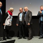 Der Vorstand der EVG verabschiedet Wolfgang Zell - Foto von Andreas Mann Fotografie
