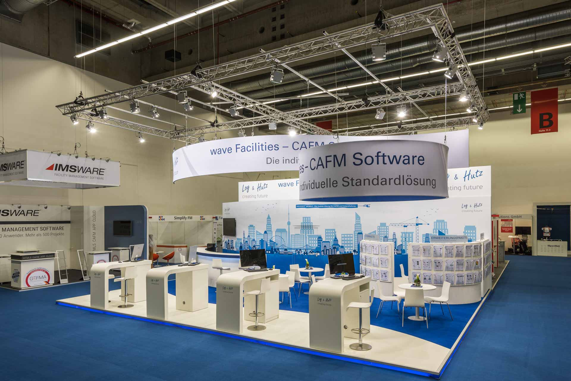 Messe INservFm in Frankfurt am Main