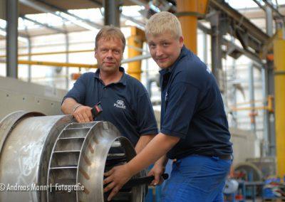 Industrie-Fotoporträt