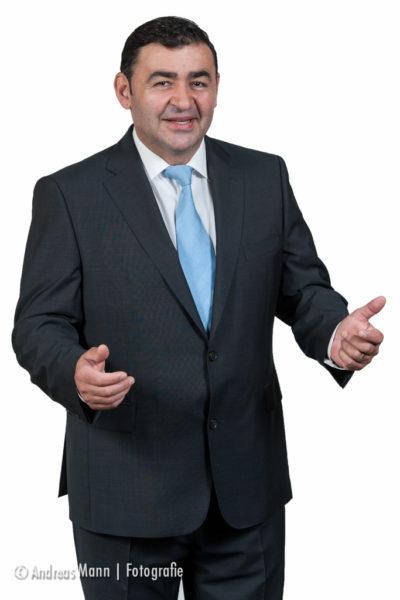 Business-Porträt: das Chef-Foto