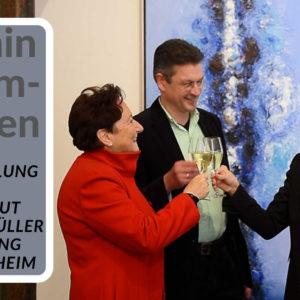 Thumbnail des Videos der Ausstellungseröffnung ARMIN BAUMGARTEN - MALEREI im Weingut Georg Müller Stiftung in Hattenheim im Rheingau